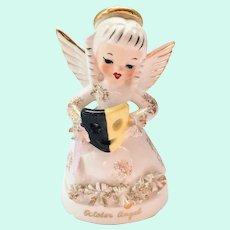 Napco October Birthday Angel A1370 Figurine