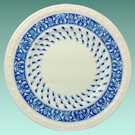 Copeland Spode Old Crow Blue and White Bread and Butter Plate