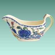 Mason's England Regency Plantation Colonial Individual Gravy Boat/Creamer for Carl Forslund Grand Rapids Michigan