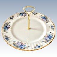 Royal Albert England Moonlight Rose Center Handle Bone China Serving Plate