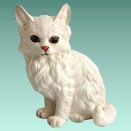 Lefton China White Persian Cat Figurine #1514