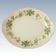 Homer Laughlin Greenbriar Eggshell Georgian 13 Inch Platter