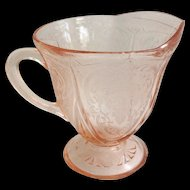 Hazel Atlas Royal Lace Pink Depression Glass Creamer