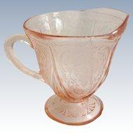 Hazel Atlas Royal Lace Pink Depression Glass Creamer