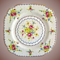 Royal Albert Bone China Petit Point 7-5/8 inch Salad Plate