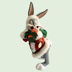 Possible Dreams Clothtique Looney Tunes Collection Bugs Bunny's 14 Carrot Santa #3402 ©1995 Retired Original Box