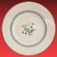 Syracuse China Coralbel Platinum Trim Salad Plate