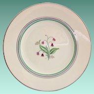 Syracuse China Coralbel Platinum Trim Salad Plate