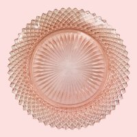 Miss America Pink Depression Glass Salad Plate by Hocking