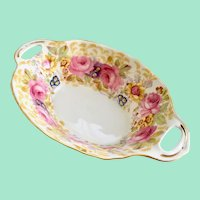 Royal Albert Serena Two Handled Small Bone China Sweetmeat Candy Dish