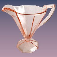 Westmoreland Doreen Number 1211 Rose Pink Depression Glass Creamer