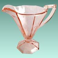 Westmoreland Doreen Number 1211 Rose Pink Depression Glass Creamer