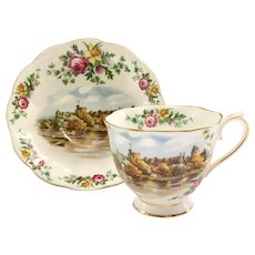 Royal Albert Bone China Traditional British Songs Series Land of Hope and Glory Teacup and Saucer