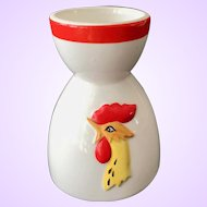 Holt Howard Coq Rouge Red Rooster Double Egg Cup 1960s