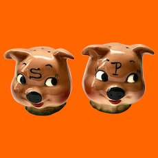 DeForest of California Go Ahead Make a Pig of Yourself Salt and Pepper Shakers