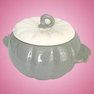 Earl China Hoenig of California Pottery Pumpkin Covered Bowl