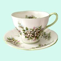 Royal Albert Blossom Time Series Orange Blossom Bone China Teacup and Saucer