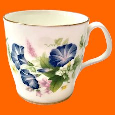 Royal Albert Bone China Morning Glory Mug Lyric Shape