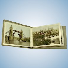 The Snapshot Album of London - Twelve Views in Hand Coloured Gravure