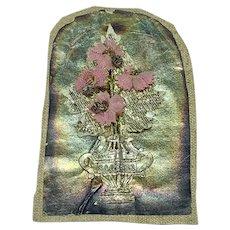 """Miniature antique floral assemblage - """"Sagesse"""""""