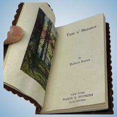 """Miniature book """"Tam O' Shanter"""" by Robert Burns"""
