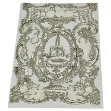 J.T. Wood & Company paper lace sheet for valentine cards