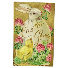"""""""Easter Greeting"""" - Easter Rabbits Series"""