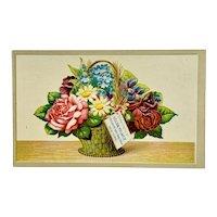 "Trade card for ""Solon Palmer, Perfumer & Toilet Soap Maker"""