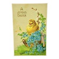 """""""A Joyous Easter"""" - Wessler postcard"""