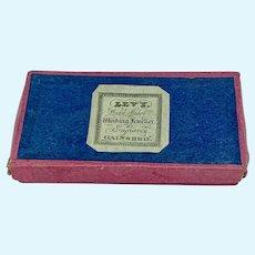 19th century Paper Jewelers Box