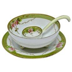 Three piece Nippon sauce bowl set