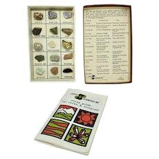 Rock and mineral specimen box