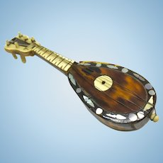 Miniature stringed instrument - mandolin
