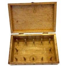 Treen spool or thread box