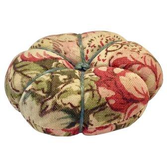 Double-sided calico pincushion