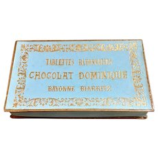Antique French chocolate box
