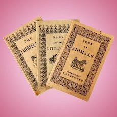 Vintage reprints of children's pamphlets