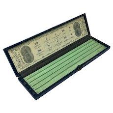 Antique Faber Prize Medals pencil box