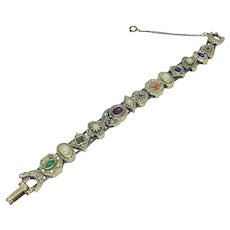 Goldette slide bracelet