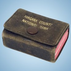 "Miniature vintage book ""Little Webster"" dictionary"