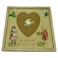 "Love token ""Valentine's Greetings"""