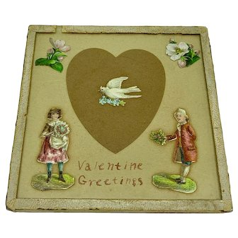 "Love token ""Valentine's Greetings"""