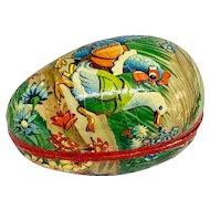 Vintage lithographed Easter egg box