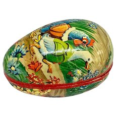 Vintage lithographed Easter egg box