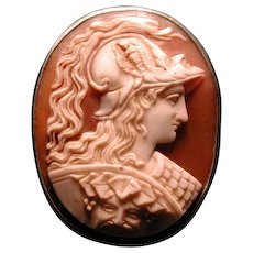 Rare 4 faced cameo of St George