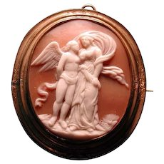 Cameo of Eros and Psyche