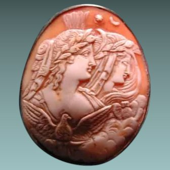 Lovely cameo of night and day with owl and eagle