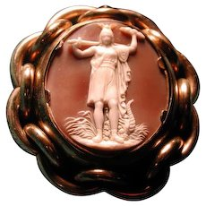 Cameo of Athena the Goddess of war