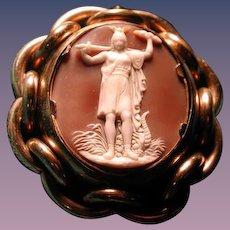 Cameo of Athena the Goddess of war