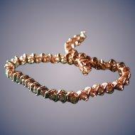 4 plus carat DIAMOND TENNIS bracelet 8 inch